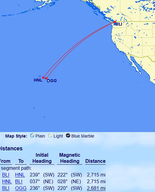 Sweet Spot West Coast To Hawaii Using British Airways