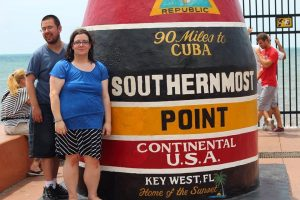 Nathan and Mary in Key West
