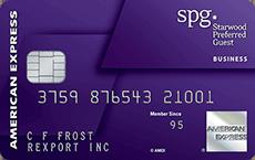 Starwood business card
