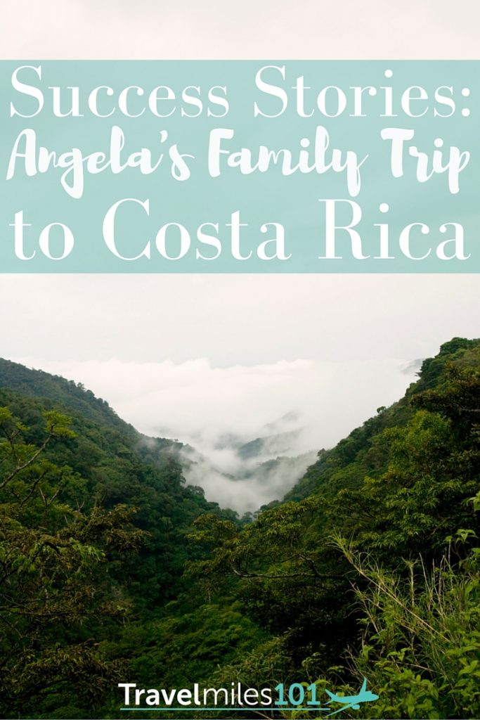 Angela tells us how she saved thousands of dollars on her family trip to Costa Rica using rewards miles and points.  Another Travel Miles 101 success story!