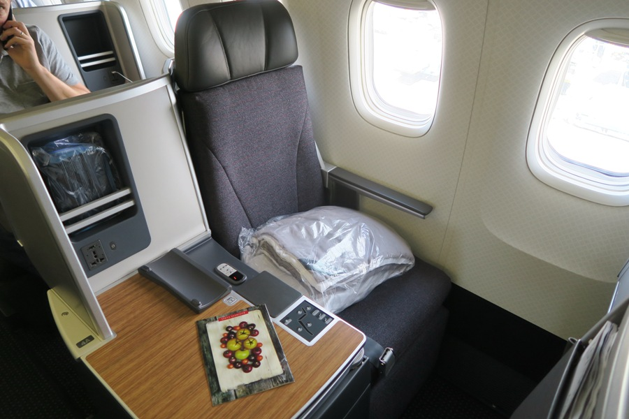 American Airlines B767 Business Class