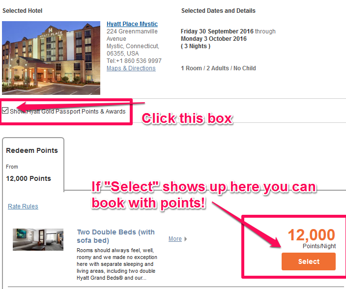 hyatt-mystic-ct-points-availability-updated