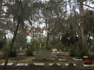 One of the eery and beautiful sights in Bonaventure Cemetery.