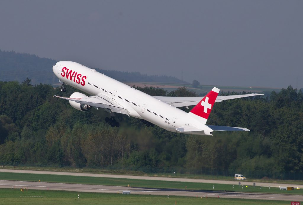 SWISS features a great Business Class