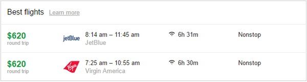 Flight Price Comparison