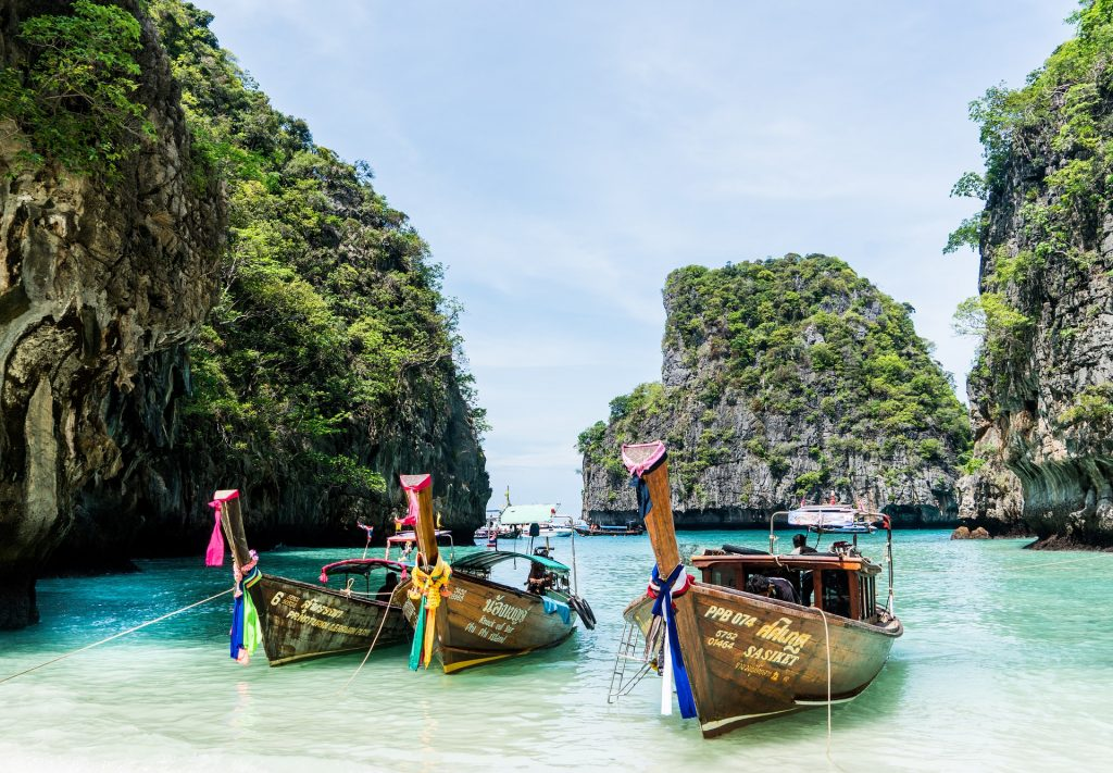 Fly THAI First Class to Thailand for 65k Miles