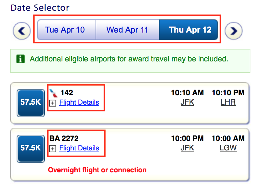 oneworld Award Availability