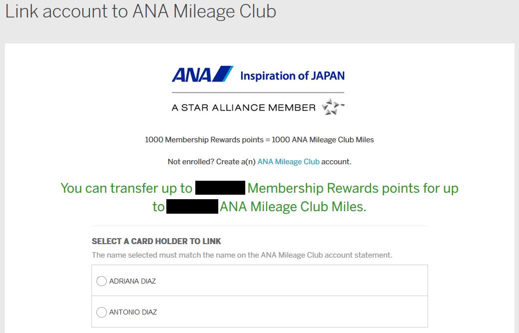 Transferring Membership Rewards Points To Someone Else